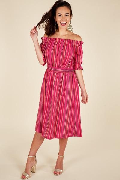 Island Stripes Dress