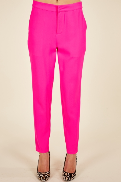 Audrey Pants, Hot Pink