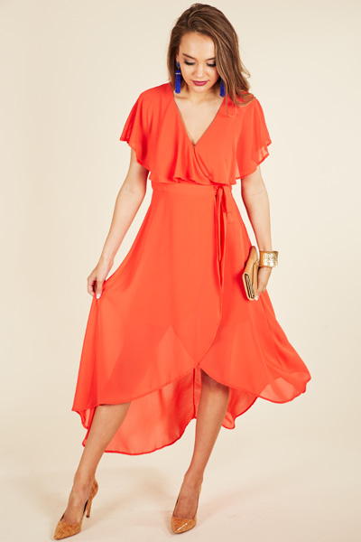 Sunset Dance Maxi, Coral