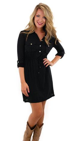 Daily Dose Dress, Black