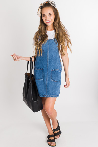 Billie Jean Overall Dress