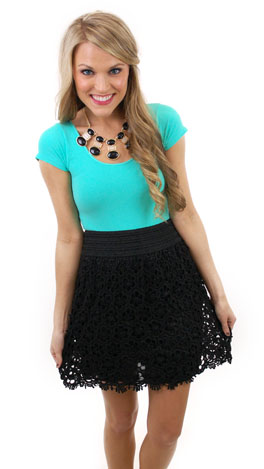 Right Time & Lace Skirt
