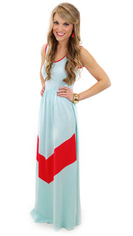 French Terry Maxi, Red