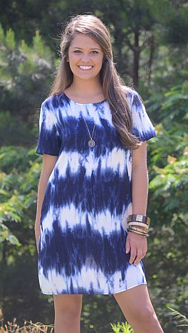 49f4f33a454 Tie Dye T-Shirt Dress    Dresses    The Blue Door Boutique