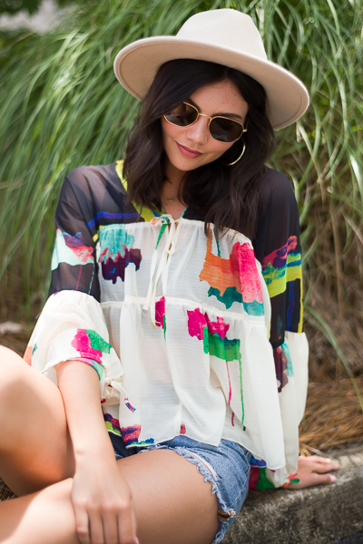 Breezy Bell Sleeve Top