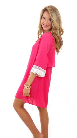KARLIE Wing Tip Dress