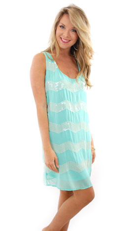 Party On Dress, Aqua