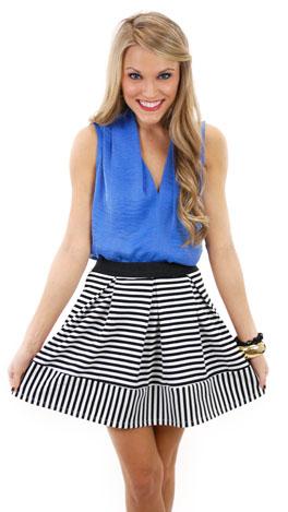 Charlotte Skirt, Black