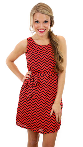 Wave The Date Dress