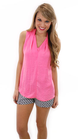Silky Smooth Top, Pink