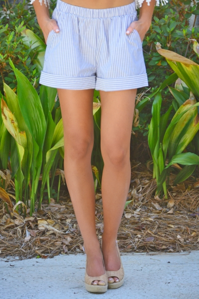 Preppy Vibes Shorts
