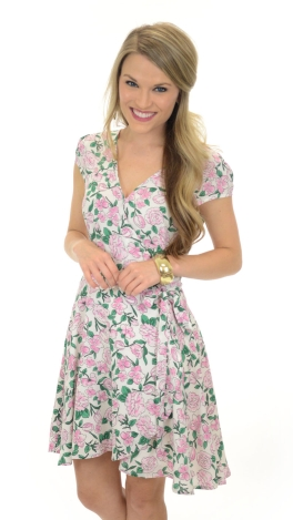 Lilly Carnation Dress