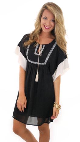 Why Wyoming Dress, Black