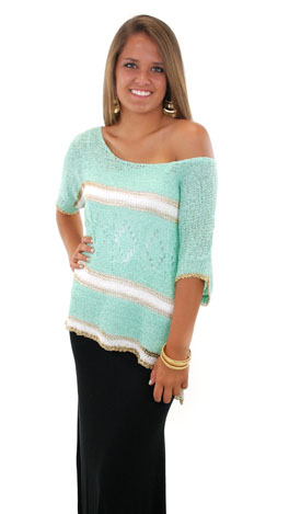 Only Mo-Mints Away Sweater