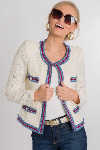 Twiggy Lace Jacket