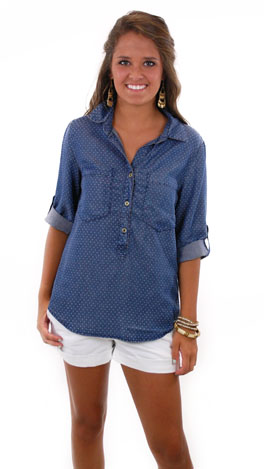 Chambray On You Top