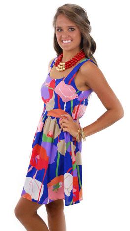 Oh My Begonias Dress