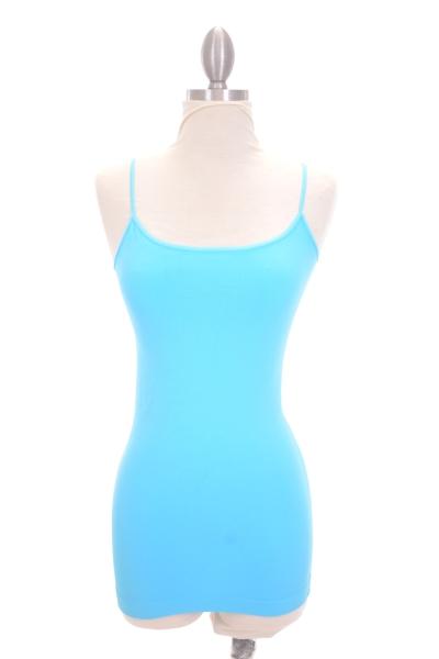 Famous Cami, Aqua Blue