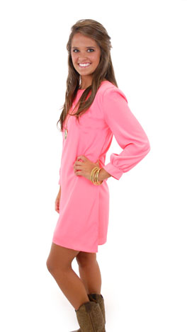 Go To Dress, Neon Coral