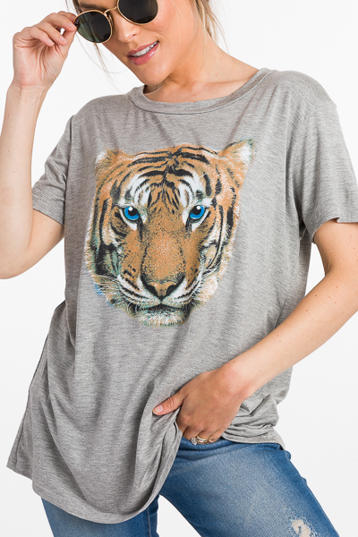 Blue Eyed Tiger Tee