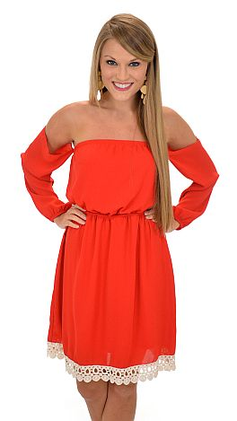 Capulet Dress, Red