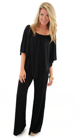 Jumpsuit For Joy, Black