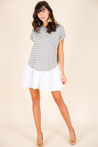 City Scape T-Shirt Dress