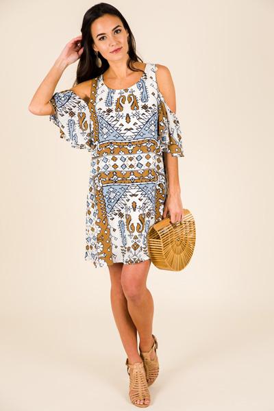 Primal Print Dress