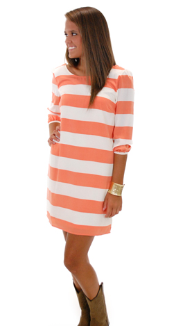 The Line King Dress, Coral