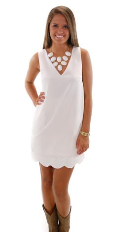 Lah Lah Land Dress, White