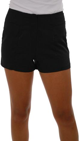 High Waist Shorts, Black