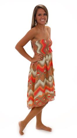 Dream Big Dress, Coral