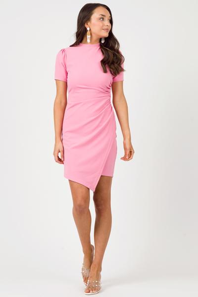 Legally Pink Stretch Dress