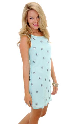 Glimmer When You Shimmer Dress