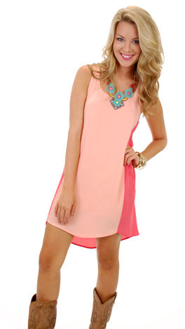 Chip Off the Color-Block, Peach