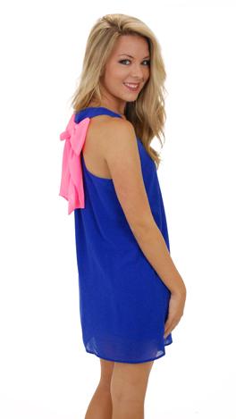 Heart Throb Dress, Blue