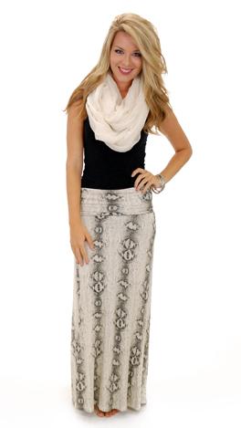 Slither Maxi Skirt