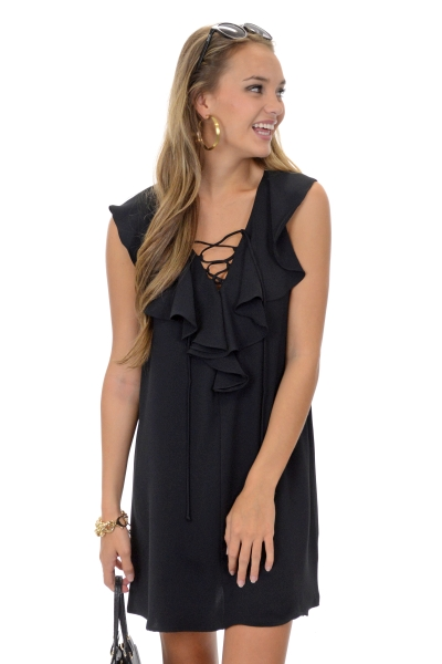 Margaret Dress, Black