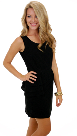 Morgan Dress, Black