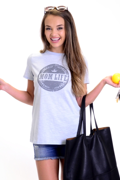 Mom Life Graphic Tee