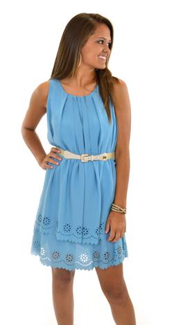 Scalloped Layers Dress
