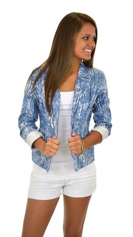 Blue Blazes Blazer