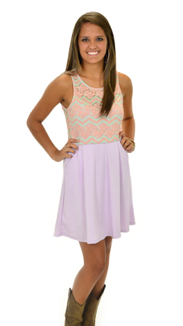 Girly Girl Dress, Lilac