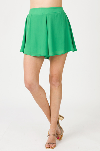 Solid Swing Shorts, Kelly Green