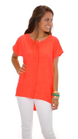 Say It Isn't Glow Top, Orange