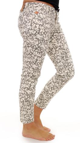 Skinny Jean, Gray Floral