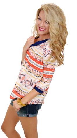 Auburn Aztec Long Sleeve