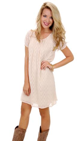 Rise Up Dress, Cream