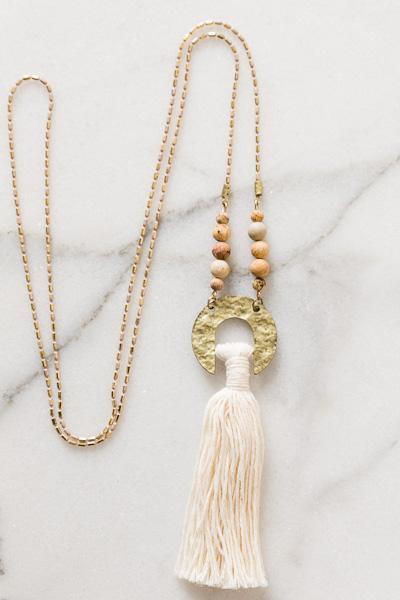 Longmire Tassel Necklace