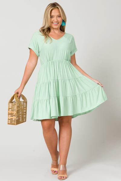 Easy Going Dress, Light Mint